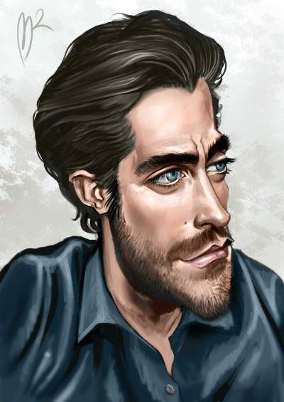 Color Caricature by Marzio Mariani - Digital painting